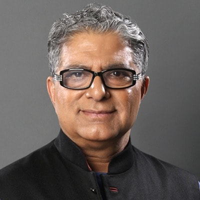 Deepak Chopra, M.D. Chopra Center Co-Founder